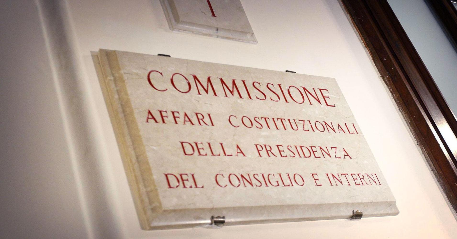 comissione-affari-costituzionali