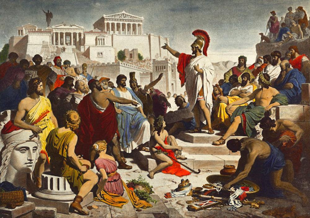 corruzione antica grecia