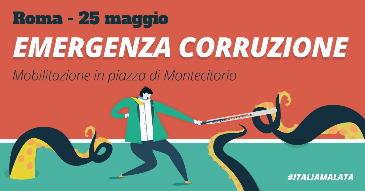emergenza corruzione a Roma